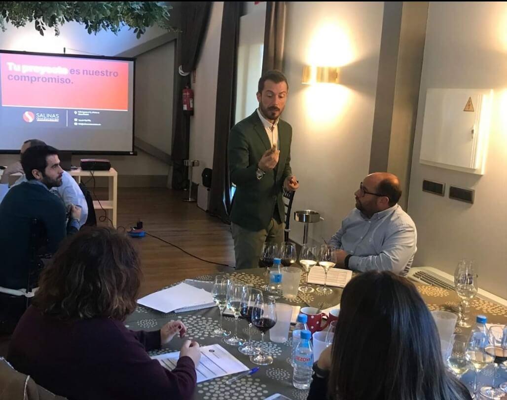 formación sobre hostelería con Salinas Restauración